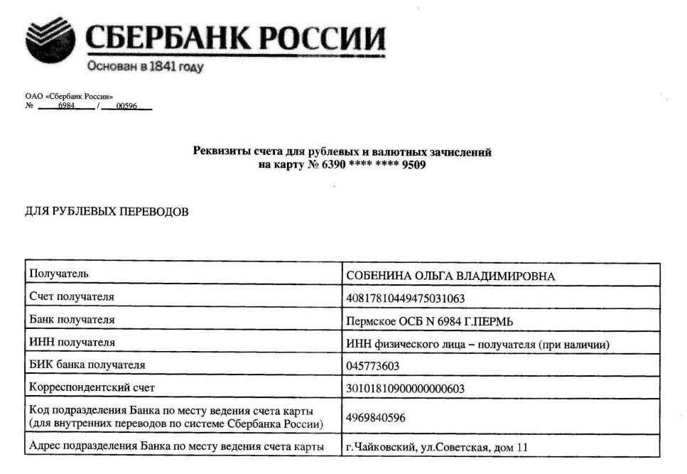 реквизиты краснодарского отделения сбербанка как обычно