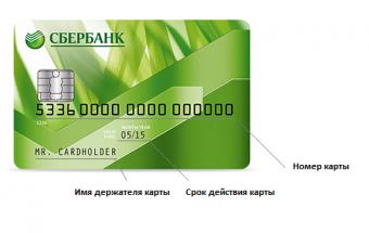 Сколько цифр в номере карты Сбербанка и где их смотреть