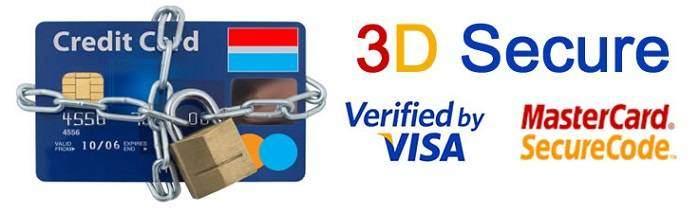 3d secure Сбербанк