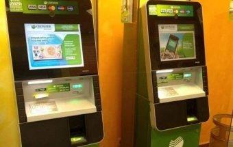Погашение кредита через банкоматы и терминалы