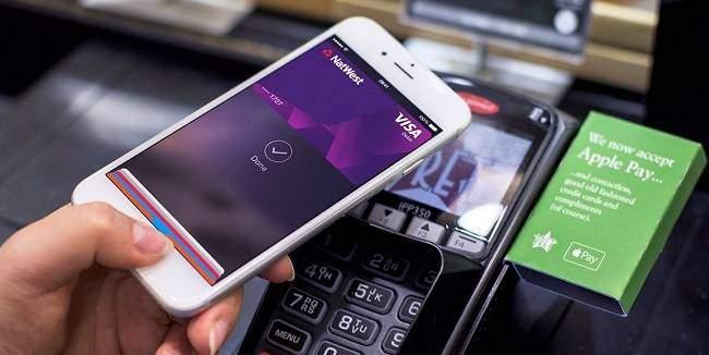 Apple Pay картой Visa в Сбербанке