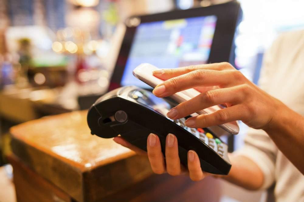 Бесконтактная оплата со смартфона