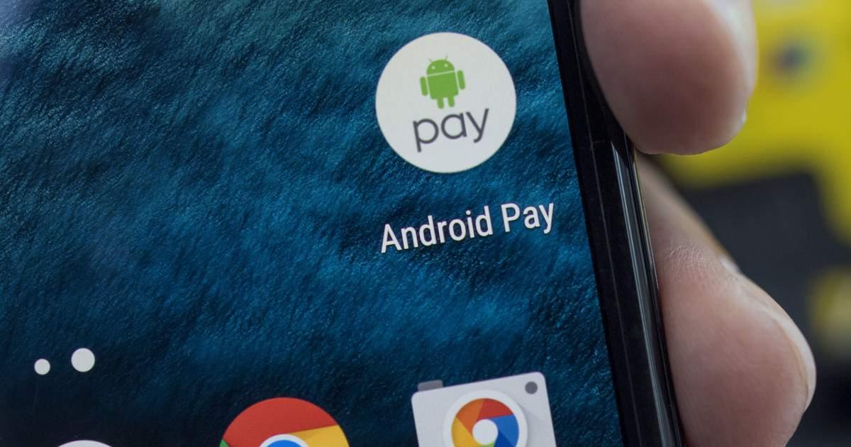 Android pay в смартфоне