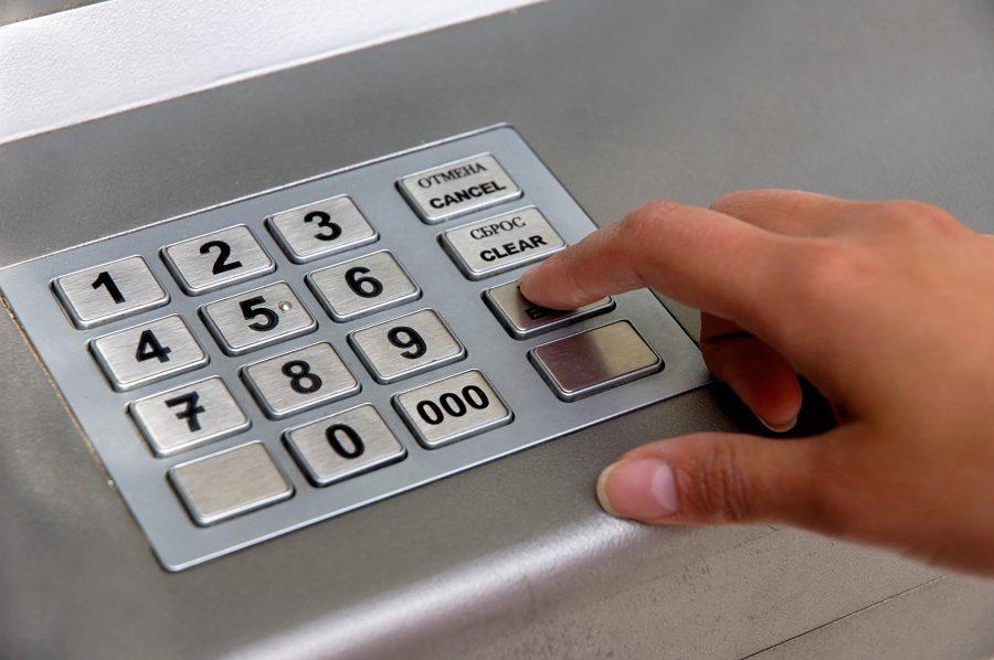 Неверный ввод Пин-кода в банкомате