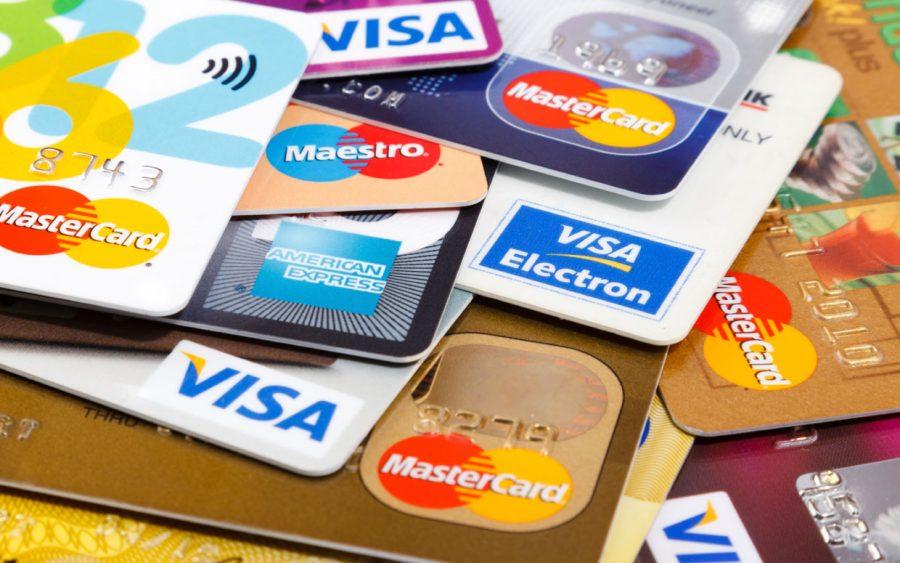Карточки виза и мастеркард
