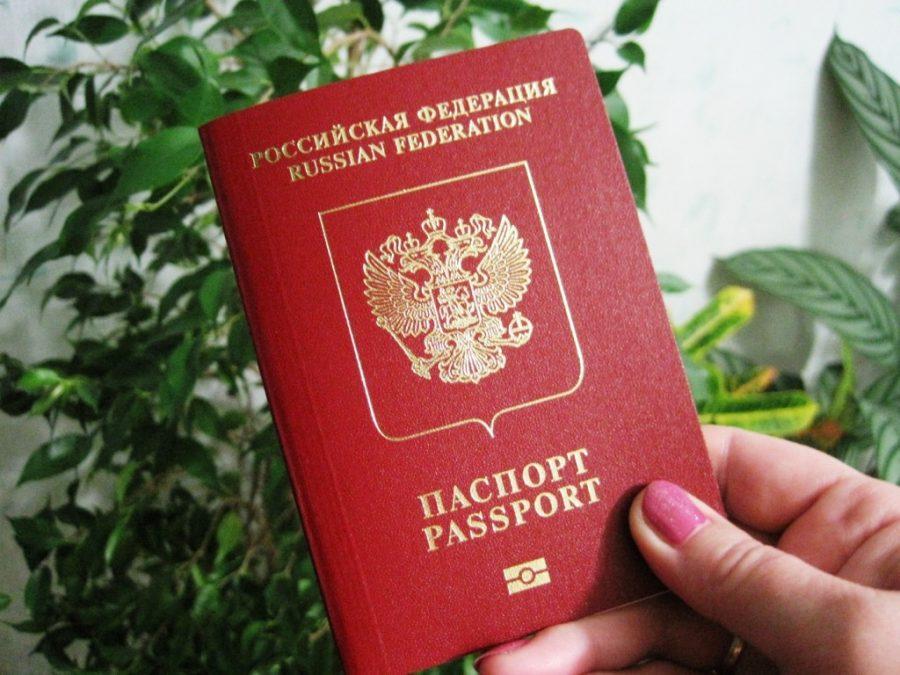 Оригинал паспорта родителя