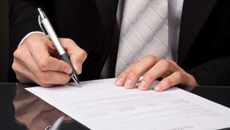 Подписание ипотечного соглашения