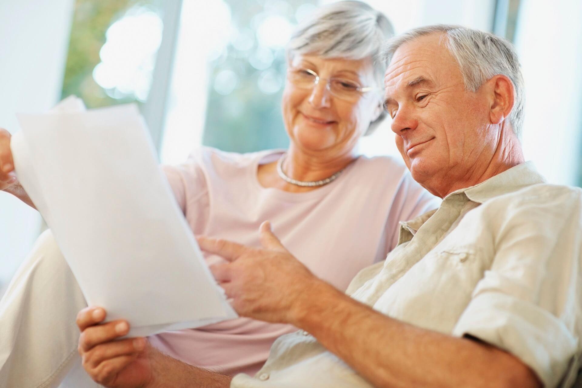 В пенсионный фонд составляют заявление