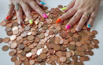 Обмен мелких монет на купюры в Сбербанке