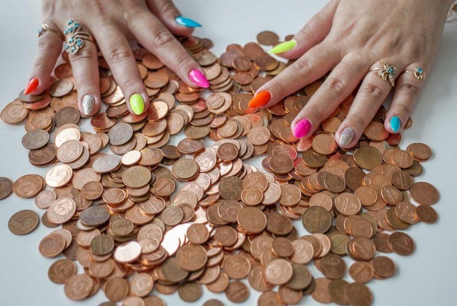 Произвести платежи монетами